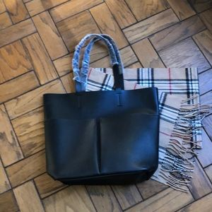 Neiman Marcus Black Tote Bag